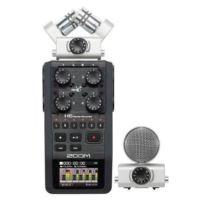 Detalhes do produto GRAVADOR Áudio H6 - ZOOM