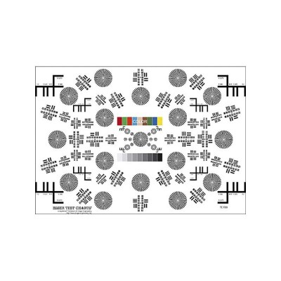 Detalhes do produto CARTA DE TESTE DE VÍDEO - IMAGE ENGINEERING