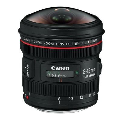 Detalhes do produto LENTE FISHEYE 8-15mm - Canon