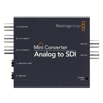 Detalhes do produto CONVERSOR ANALOG TO SDI - BLACKMAGIC