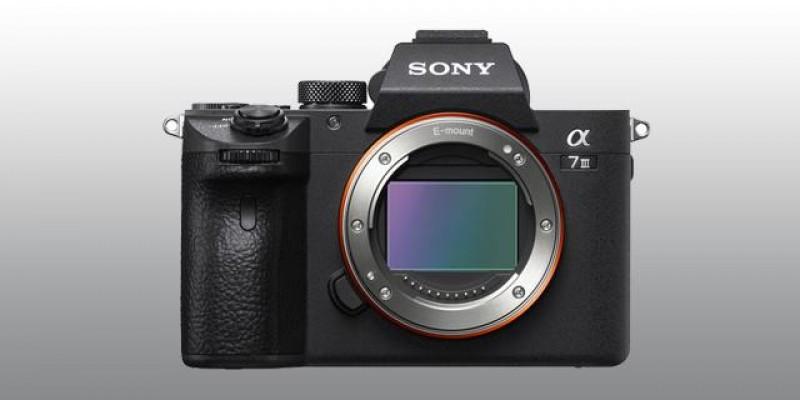 Sony Alpha 7III disponível na Bureau