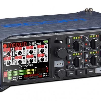 Detalhes do produto GRAVADOR Áudio F8 - ZOOM