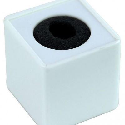 Detalhes do produto Venda - Canopla Quadrada Branca Para Microfones
