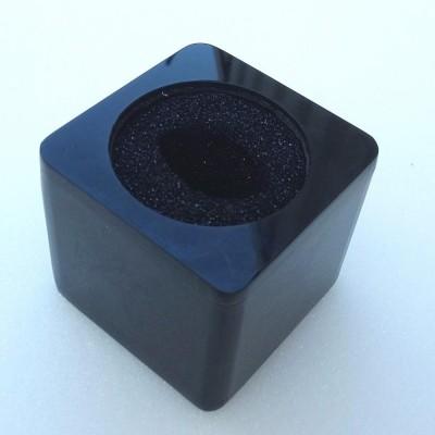 Detalhes do produto Venda - Canopla Quadrada Preta Para Microfones