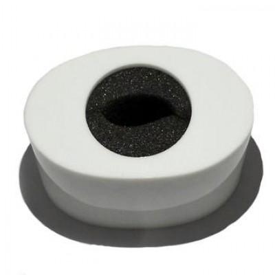 Detalhes do produto Venda - Canopla Oval Branca
