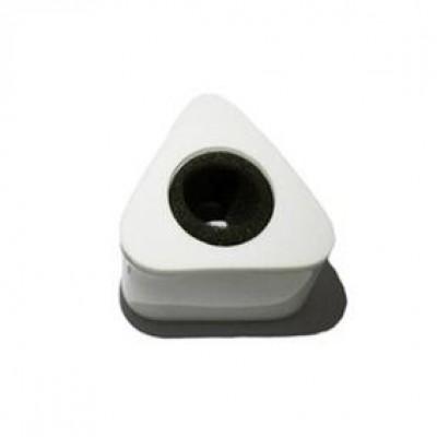 Detalhes do produto Venda - Canopla Triângulo Branca