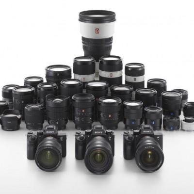 Detalhes do produto Câmeras Sony linha Alpha a7 e lentes e-mount