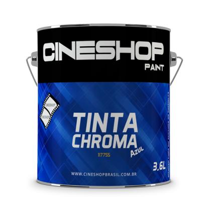Detalhes do produto Tinta Chroma Key Azul 3,6 Litros