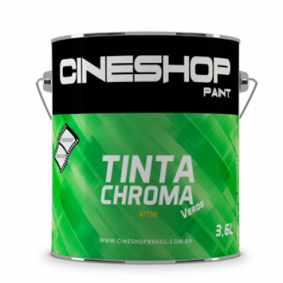 Detalhes do produto Tinta Chroma Key Verde 3,6 Litros