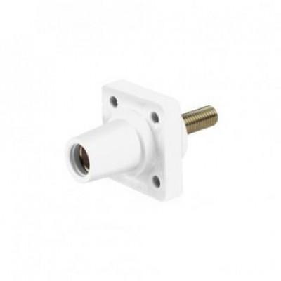 Detalhes do produto Cam Lock Painel Femea 400A - Branco C/ Parafuso