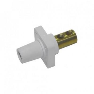 Detalhes do produto Cam Lock Painel Femea 400A - Branco S/ Parafuso
