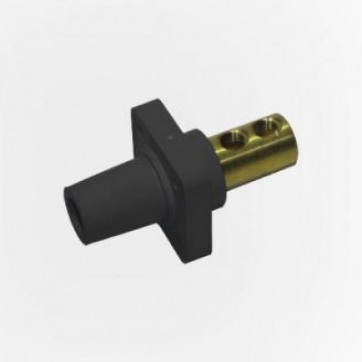 Detalhes do produto Cam Lock Painel Femea 400A - Preto S/ Parafuso