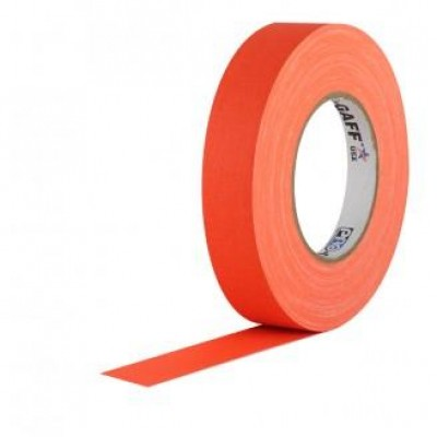 Detalhes do produto Fita de Tecido Gaffer Tape 2,5cm x 50m Laranja FL