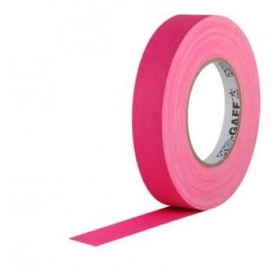 Detalhes do produto Fita de Tecido Gaffer Tape 2,5cm x 50m Rosa FL