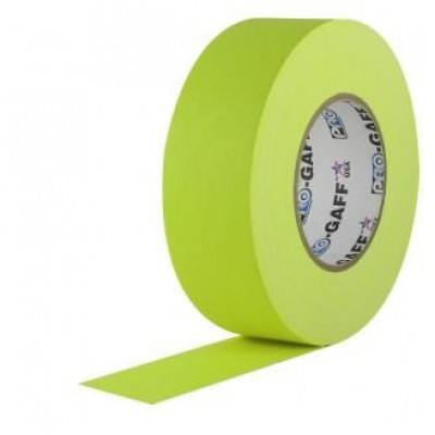 Detalhes do produto Fita de Tecido Gaffer Tape 5cm x 25m Amarelo FL