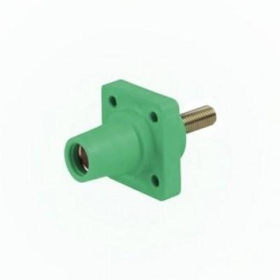 Detalhes do produto Cam Lock Painel Femea 400A - Verde C/ Parafuso