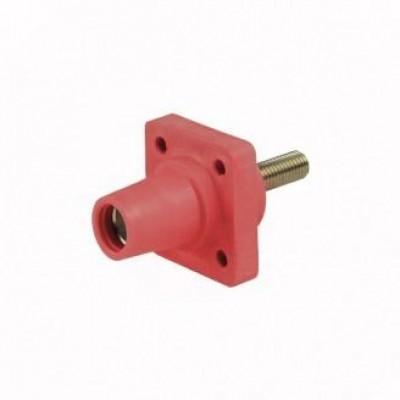 Detalhes do produto Cam Lock Painel Femea 400A - Vermelho C/ Parafuso