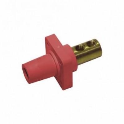 Detalhes do produto Cam Lock Painel Femea 400A - Vermelho S/ Parafuso