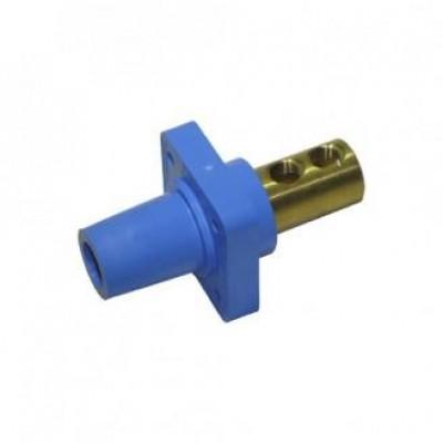 Detalhes do produto Cam Lock Painel Macho 400A - Azul C/ Parafuso
