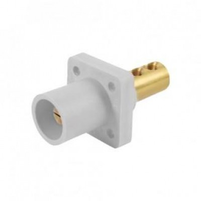 Detalhes do produto Cam Lock Painel Macho 400A - Branco S/ Parafuso