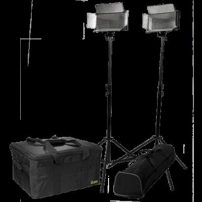 Detalhes do produto KIT REFLETOR 2 LED BICOLOR IB500 - IKAN