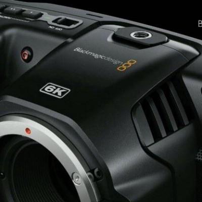 Detalhes do produto CÂMERA POCKET CINEMA 6K - Blackmagic