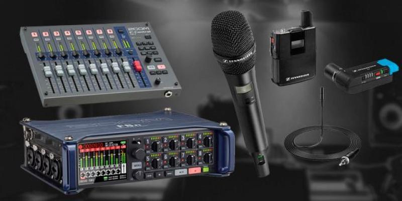 Áudio para uma Produção Incomparável