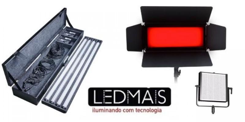 Iluminadores Led Brasileiros - Pronta Entrega