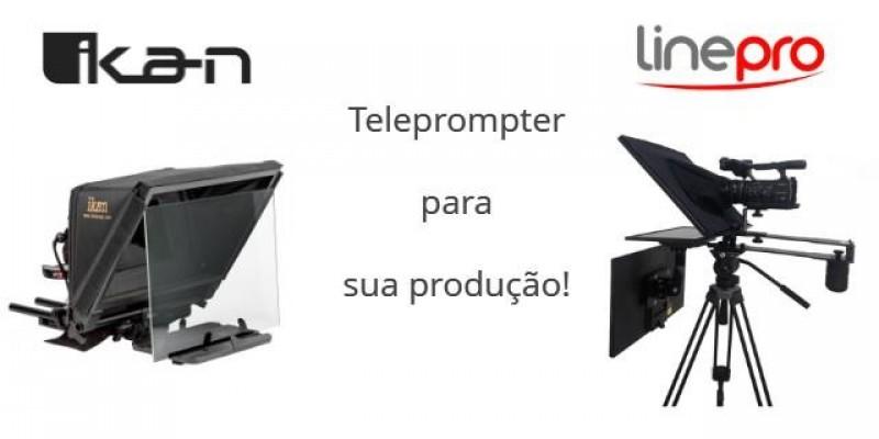 Qual teleprompter é melhor pra sua produção?