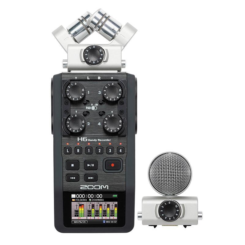 GRAVADOR Áudio H6 - ZOOM