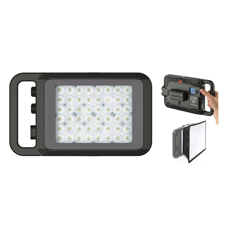 KIT REFLETOR LED BICOLOR LYKOS - MANFROTTO