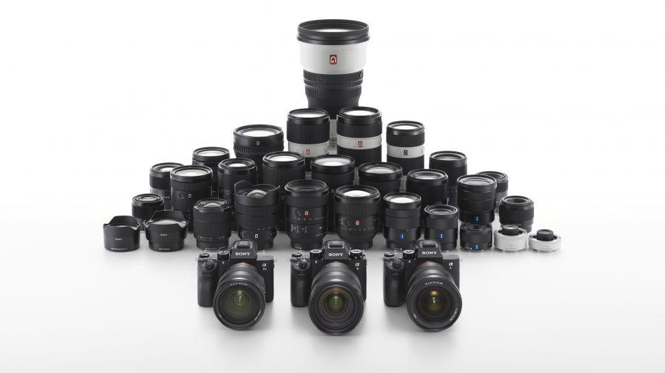 Câmeras Sony linha Alpha a7 e lentes e-mount