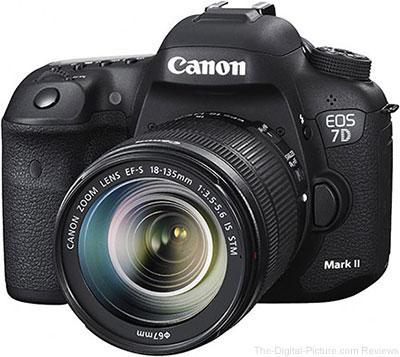 Camera DSLR da Canon para Locação : EOS 7D Mark II