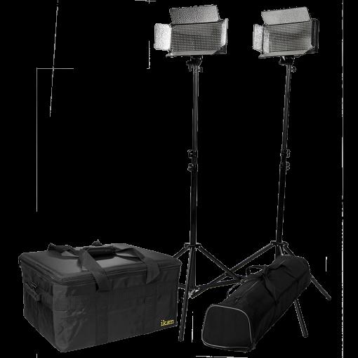 KIT REFLETOR 2 LED BICOLOR IB500 - IKAN
