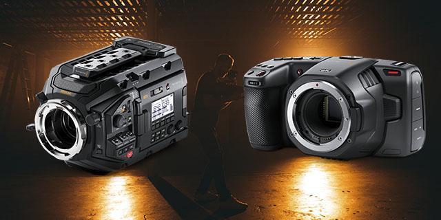 Câmeras da Blackmagic Design para Locação