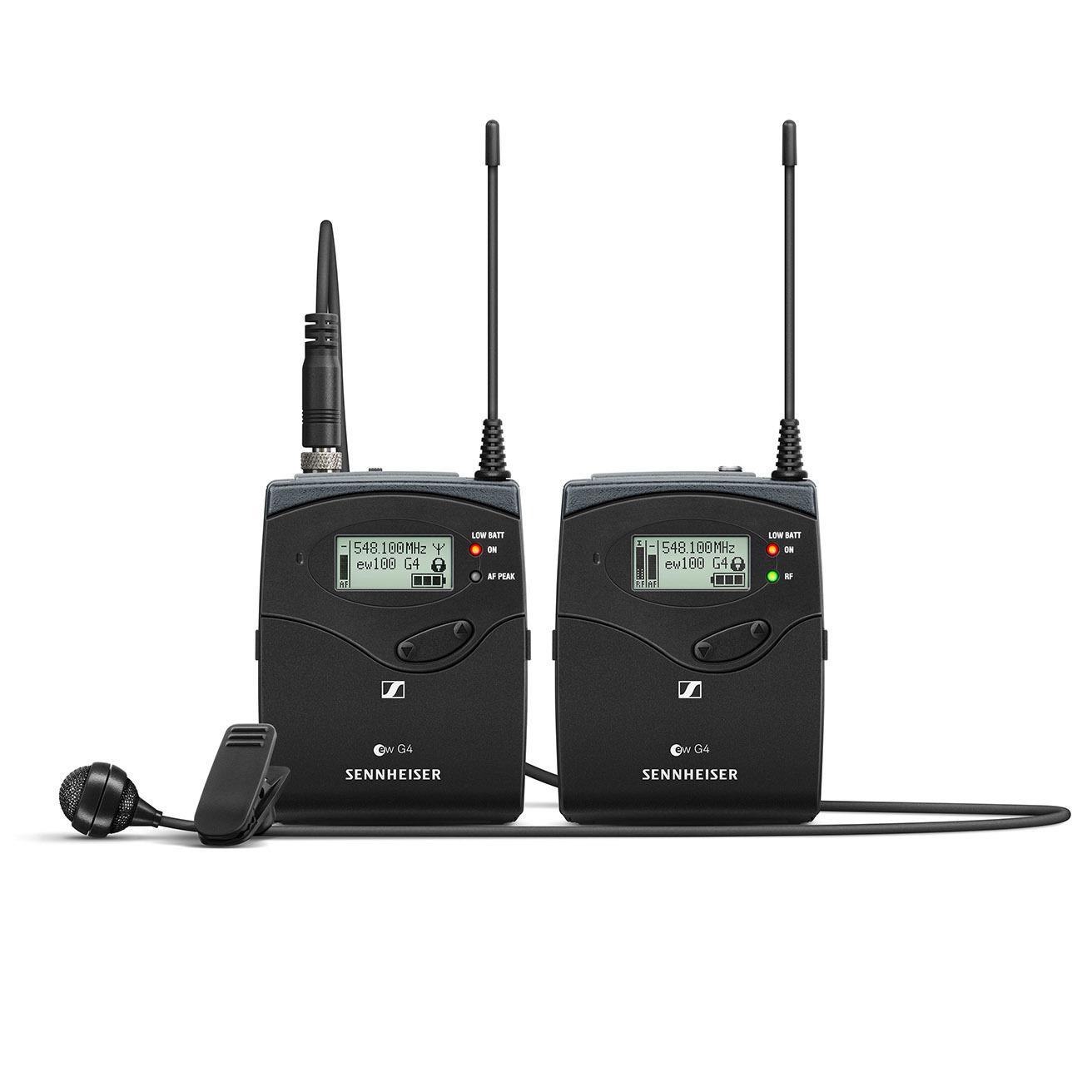 Sistemas sem Fio Sennheiser G4 - Microfones Lapela e Mão