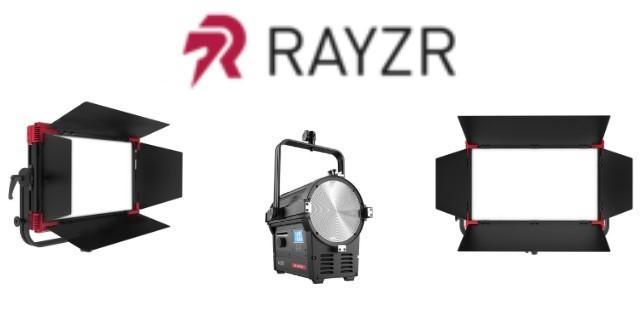 Fresnel e Painel Rayzr disponíveis para locação