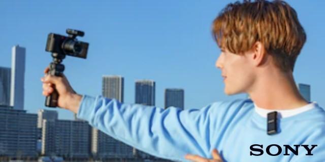 Sony apresenta lapela ECM-W2BT direcionado a câmeras alpha